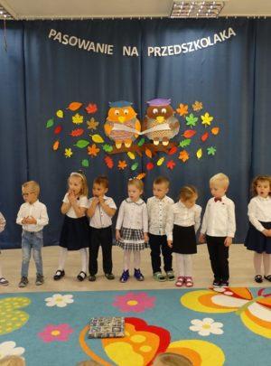 Zabezpieczony: Pasowanie na przedszkolaka