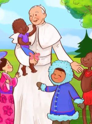 Zabezpieczony: Przedszkolaki świętują 100-lecie urodzin św. Jana Pawła II