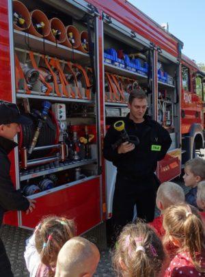 Zabezpieczone: Straż Pożarna w przedszkolu
