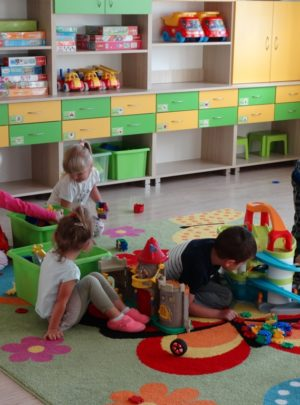 Zabezpieczony: Pierwsze kroki Gwiazdeczek w przedszkolu
