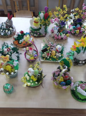Zabezpieczony: Wielkanocny dar serca od przedszkolaków