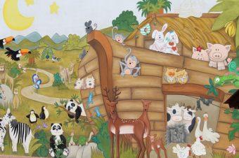 Historie biblijne na rysunkach przedszkolaków